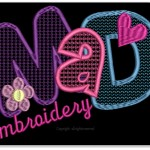 MaD Embroidery logo