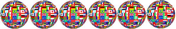 flagged globe GBGW