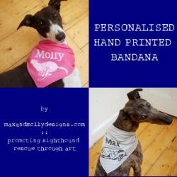 Personalised Bandana by Max & Molly Designs